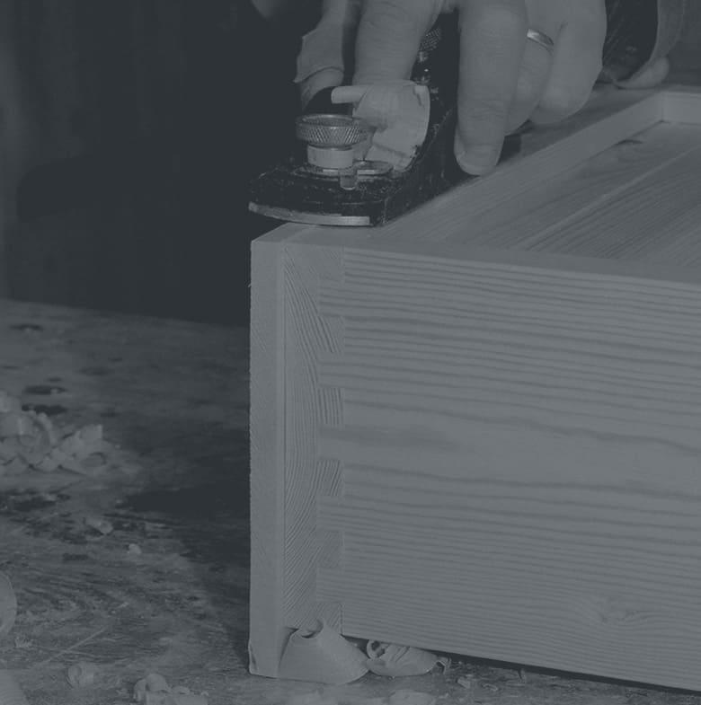 Craftsman Planeing wood