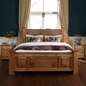 Traditional Wooden Bed