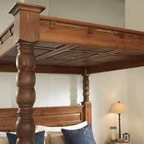 4 Poster Canopy Lid and Headboard