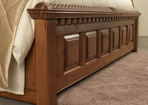 Irish Style Traditional Bed Footboard