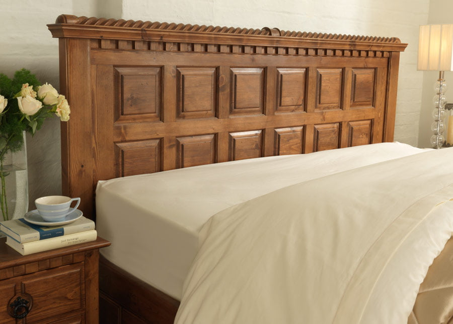Irish Style Traditional Bed Headboard