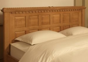 Irish Style Bed Headboard Panel Detailing