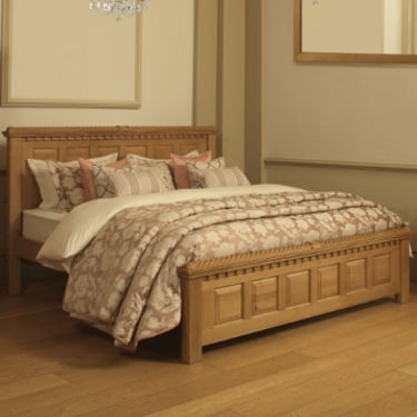 Luxury Solid Oak Bed Frame