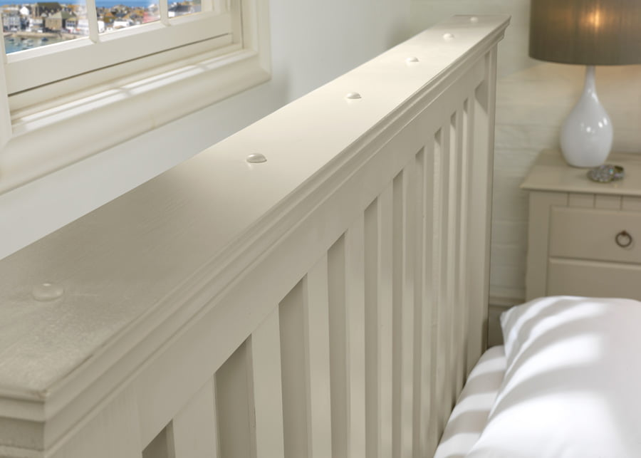 Main New England Painted Headboard Close Up Detail