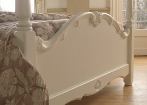French Style Four Poster Bed Footboard Detail