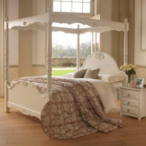 Louis Style Four Poster Bed