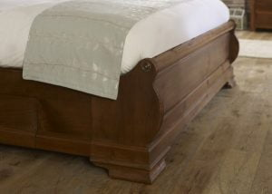 Solid Wood Super King-size Footboard