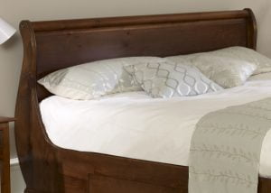 Solid Wood Super King-size Headboard