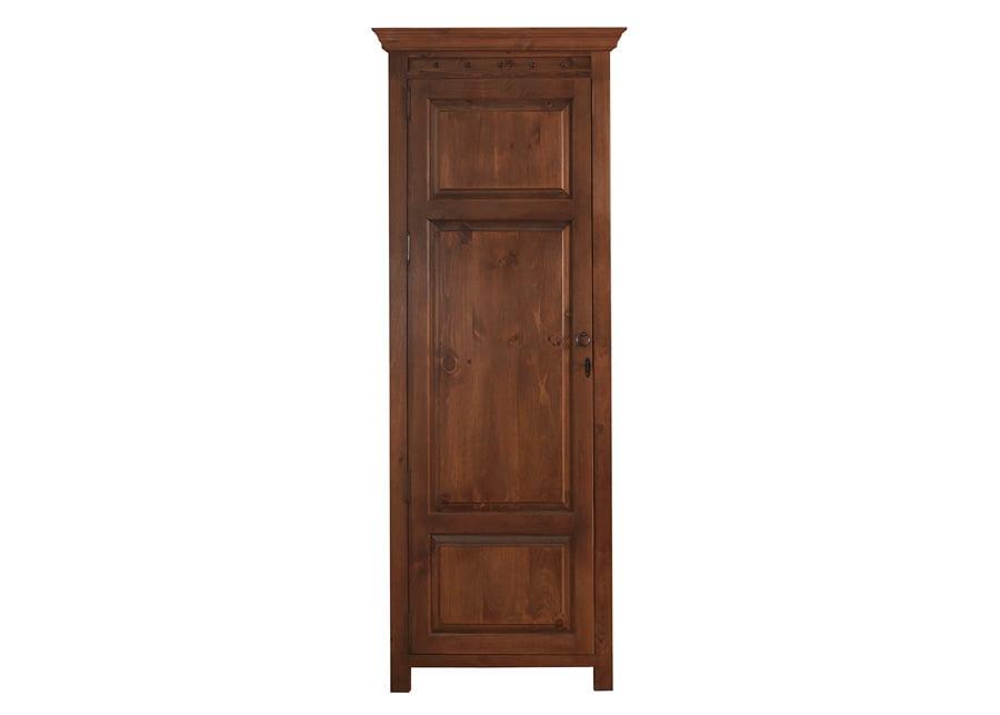 Solid Wood 1 Door Wardrobe