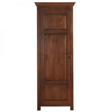 Solid Wood 1 Door Wardrobe