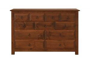 11 Drawer Wooden Chest