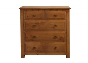 5 Drawer Solid Wooden Chest
