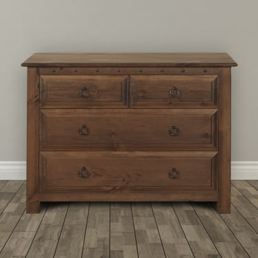 Small Solid Wood Chest of Drawers