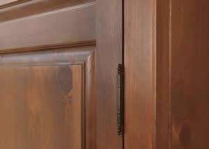 Hinge on Wardrobe Door