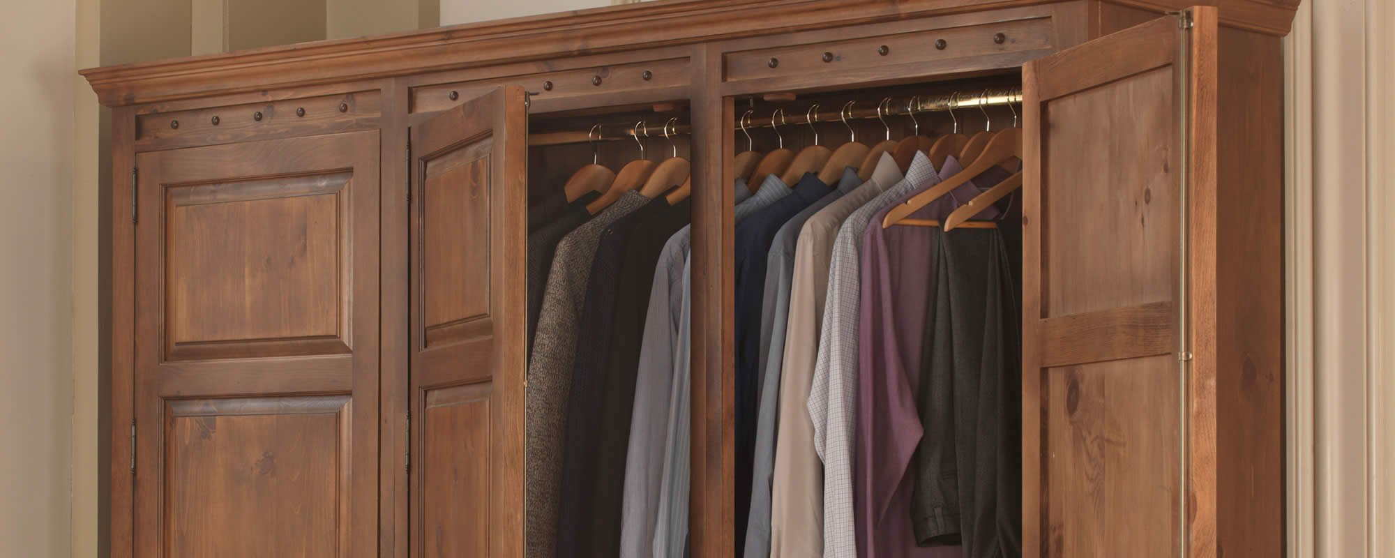 Solid Wooden Wardrobes
