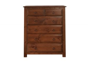 6 Drawer Solid Wood Chest