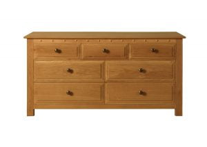 7 Draw Chest of Drawers in Oak