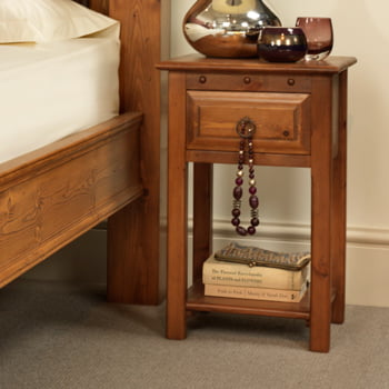 Solid Wood Bedside Table Handmade In The Uk Revival Beds