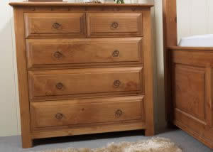 2 Over 3 Tradional Chest of Drawers