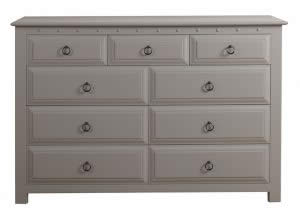 Painted 9 Drawer Chest