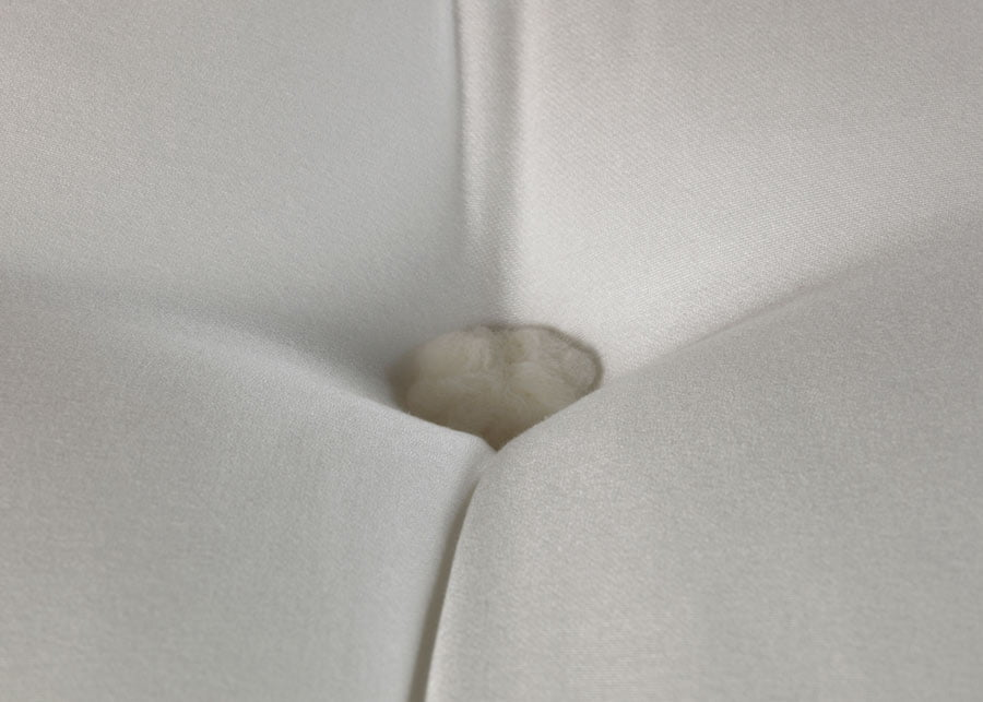Tufted Button Detail on Mattress