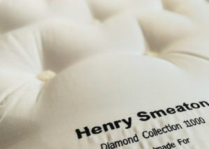 Henry Smeaton Diamond 11000 Mattress Embroidery Detail