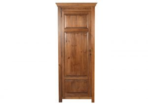 Large Single Door Wooden Wardrobe