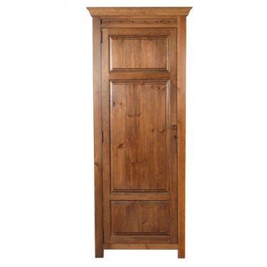Large Single Door Wooden Wardrobe