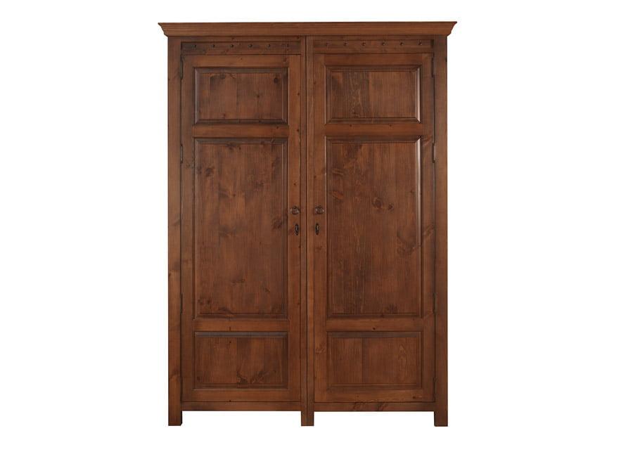 Extra Large 2 Door Wooden Wardrobe