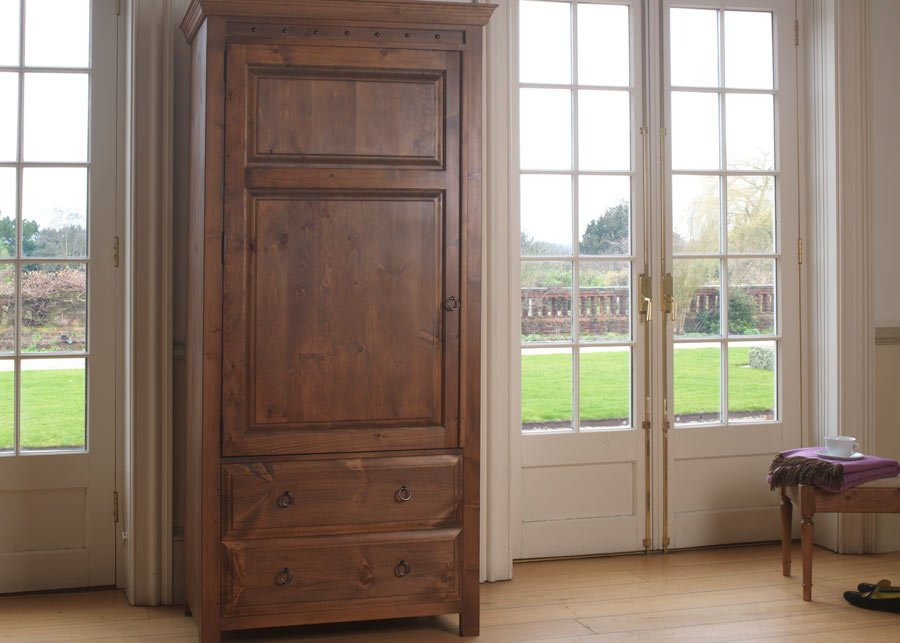 Large Wooden Freestanding Cupboard