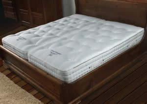 Large Spring Count Zip Together Mattress