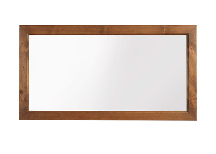 Natural Wood Wall Mirror