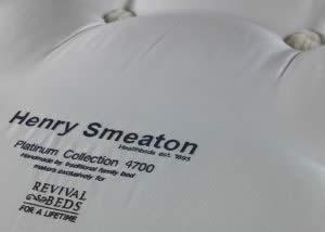 Close Up Henry Smeaton Mattress Luxury