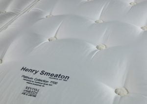 Henry Smeaton Mattress Fabric Detail
