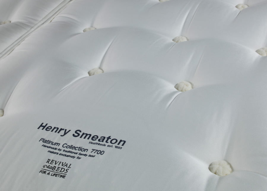 Henry Smeaton Mattress Fabric Detail