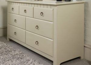 Painted New England Chest of Drawers