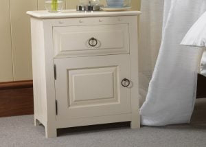 Painted Bedside Cabinet with Door
