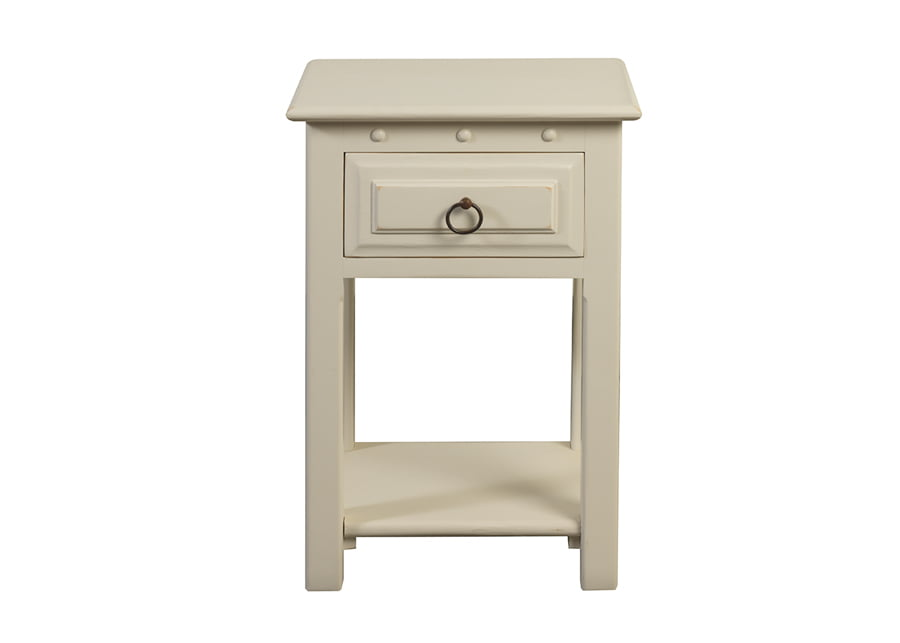 Painted Bedside Table with Drawer