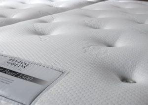 Pocket Sprung Mattress Fabric Detail