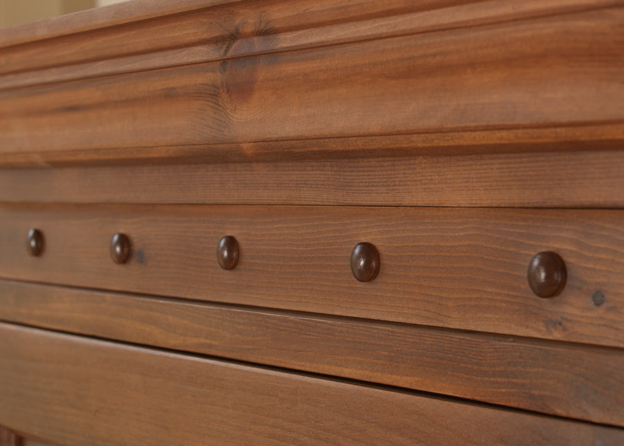 Solid Wooden Wardrobe Trim Detail