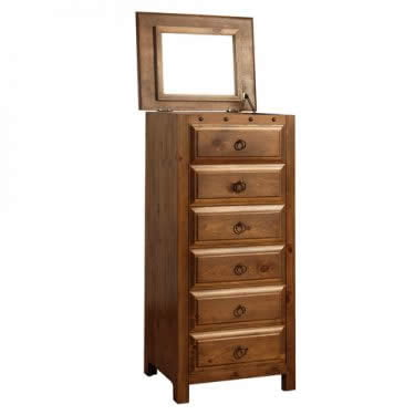 Solid Wood Vanity Chest