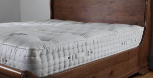 Mattress on a Sleigh Bed