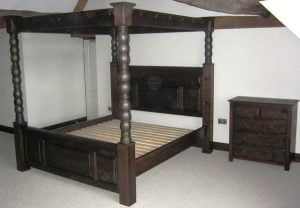 Ambassador Four Poster Bed at Weston Hall
