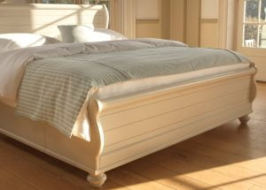New England Sleigh Bed Footboard