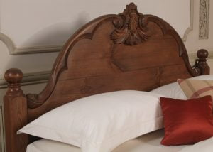 Wooden French Style Bed Headboard Detail