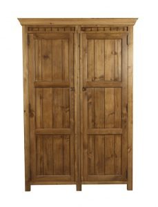 2 Door New England Solid Wood Wardrobe