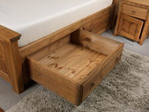 Large Solid Wood Underbed Storage Drawer