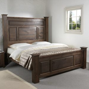 Super Kingsize Wooden Bed