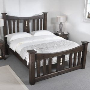 Mackintosh Bed in Solid Wood