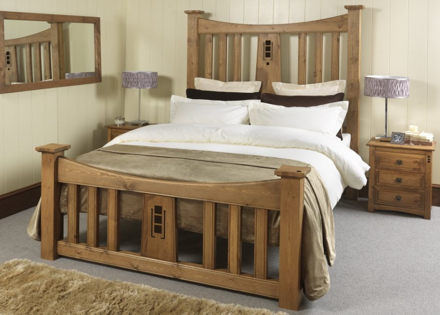 Mackintosh Wooden Bed